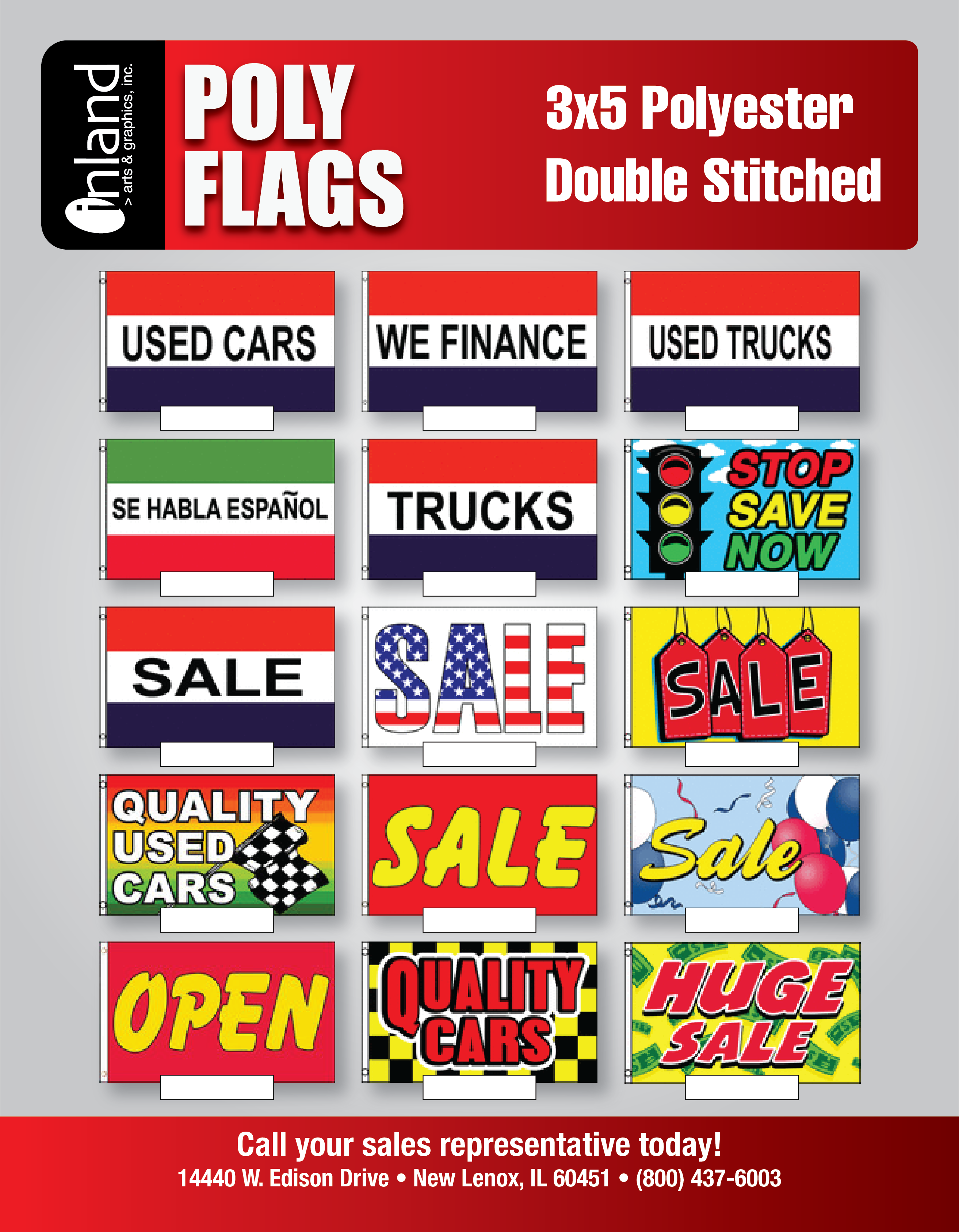 Car Dealer and Auto Repair Forms & Supplies - Inland Arts & Graphics